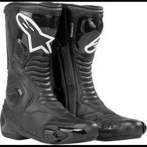 "Alpinestars racing boots ""Stella"" S-MX5 Size 10"
